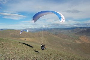 Mana light weight paraglider UP