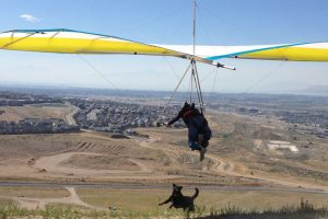 Wills Wings at green dragons paragliding shop